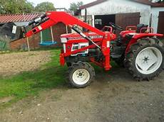 traktor mit frontlader kaufen traktor kleintraktor yanmar 2210d frontlader schlepper