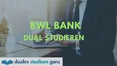 duales bwl studium duales studium banking bwl bank info serie