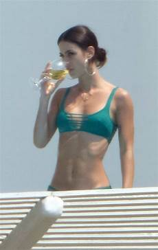 Lena Meyer Landrut In A Green Enjoying A Vacation