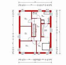 Grundriss Mit Treppe In Der Mitte - grundriss einfamilienhaus mit gerader treppe grundriss