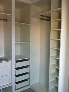 kleiner kleiderschrank ikea ikea built in closet hack closets bedroom closet