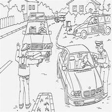 polizeiauto ausmalbild spannende coloring bilder drei auto
