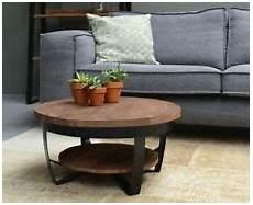 design couchtisch rund runde couchtische aus mangoholz g 252 nstig kaufen ebay