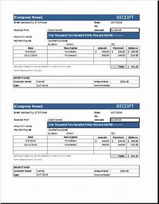 word 2007 receipt template receipt template for word word excel templates