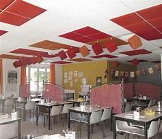 isolation phonique plafond suspendu dalle acoustique