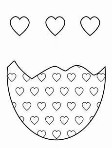 Ostereier Malvorlagen Herz Kostenlose Malvorlage Ostern Herz Osterei Zum Ausmalen