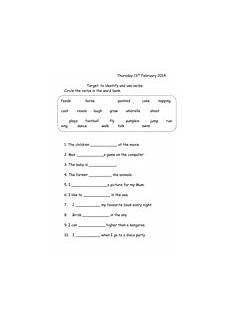 grammar worksheets year 4 25048 verbs worksheet year 1 teaching resources