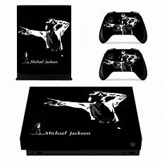 michael jackson skin sticker decal for xbox one x