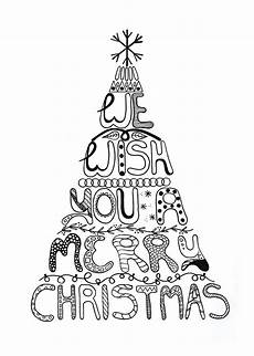 merry christmas coloring page allfreepapercrafts com