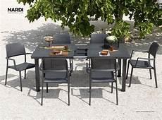 tavoli e sedie in resina per esterno tavolo da giardino allungabile levante nardi