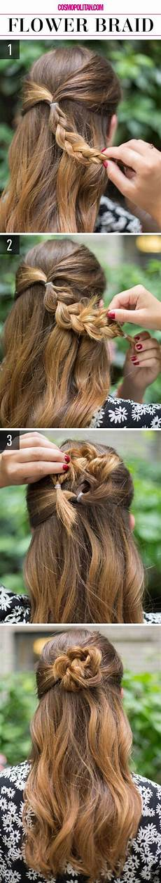 12 cute and easy hairstyles that can be done in a few minutes and blush