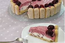 kuchen ohne backen mit quark no bake kirschtorte mit quark joghurt sommerliche torte