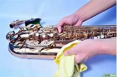ein saxophon reinigen wikihow