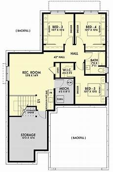 4 bedroom ranch house plans with walkout basement pin on ideas for the house2
