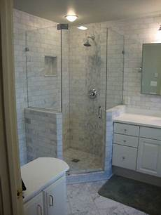 Small Bathroom Ideas With Corner Shower by Fully Frameless Neo Angle Shower Glass To Glass Pivot