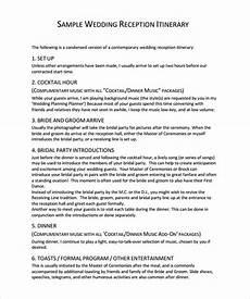 sle wedding program template 9 documents in pdf
