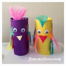 toilet roll craft pinchy parrots of one