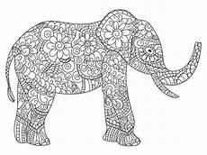 mandala elephant vector at getdrawings free