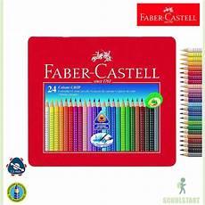 Faber Castell Malvorlagen B Faber Castell Colour Grip 24 Farben Im Metalletui Stifte