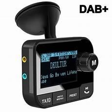 blufree in car dab digital radio adapter fm transmitter