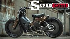 Cafe Racer Honda Cub By Eak K Speed Custom cafe racer honda cub by eak k speed custom
