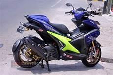 Modifikasi Motor Aerox 155 by Modifikasi Yamaha Aerox 155 Yonk Jaya Motor Bandung Ini