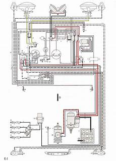 wiring layout thesamba com karmann ghia wiring diagrams