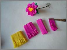 Blume Basteln Kinder - papierblumen basteln anleitung f 252 r verschiedene