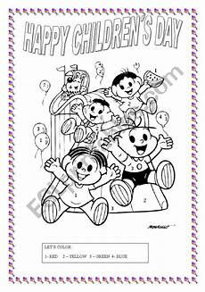 s day worksheets 20467 children 180 s day activity esl worksheet by t ti
