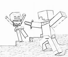 Aquarell Malvorlagen Minecraft Minecraft Coloring Pages Steve Coloring Home