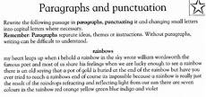 punctuation worksheets in paragraph 20797 paragraphs and punctuation qzealand