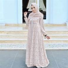 18 Model Baju Muslim Terbaru 2018 Desain Simple Casual