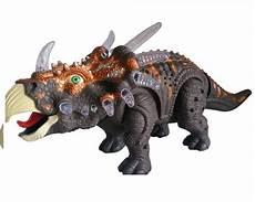 jual beli walking dinosaurus triceratops gray robot dino triceratop baru aneka mainan anak