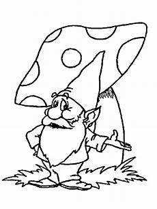 gnome coloring pages to and print for free