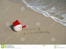 merry christmas written tropical white sand stock image image of happy concept 36273537
