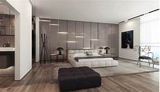 gray gloss wall lighting panels interior design ideas
