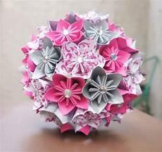 Custom Wedding Kusudama Origami Paper Flower By