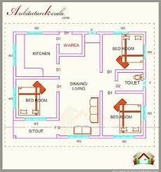 free kerala house plan for spacious 3 bedroom 760 square feet 3 bedroom house plan architecture kerala