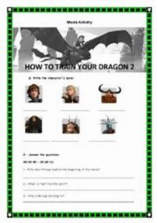 english worksheets how to train your dragon 2