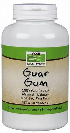 guar gum powder now foods
