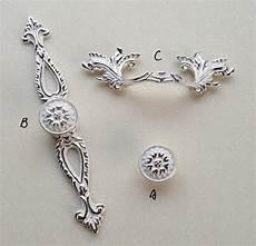 Wei 223 Silber Kommode Schublade Kn 246 Pfe Griffe Griffe