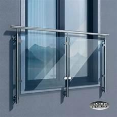 balkongeländer glas onlineshop sellon 24 onlineshop edelstahl balkongel 228 nder glas