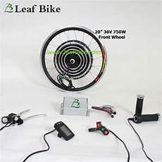 20 inch 36v 750w front hub motor electric bike conversion kit