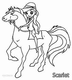 Ausmalbilder Pferde Horseland Printable Horseland Coloring Pages For