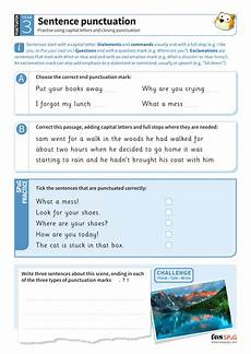 punctuation worksheets year 3 20696 sentence punctuation worksheet year 3 spag teaching resources