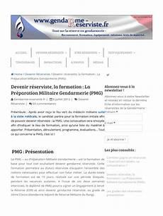 devenir gendarme reserviste devenir r 233 serviste la pr 233 paration militaire gendarmerie pmg www gendarme reserviste