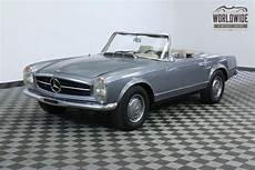 1965 mercedes benz sl class convertible 4 speed manual