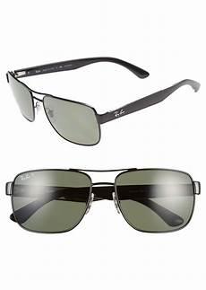 ban ban 58mm steel aviator polarized sunglasses