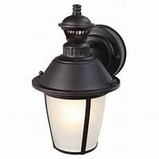 heath zenith 1 light heritage bronze motion activated outdoor wall lantern sconce hz 4114 hb