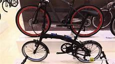 bmw mini folding bike 2019 bmw folding bike walkaround 2018 eurobike